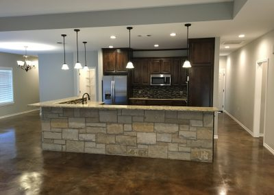 modern style kitchen west texas crosswise custom homes