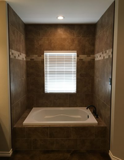 modern style bathroom crosswise custom homes