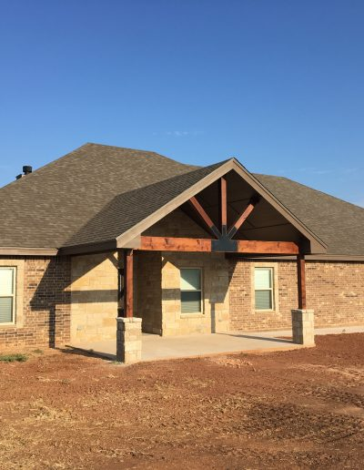 front view crosswise custom homes abilene texas