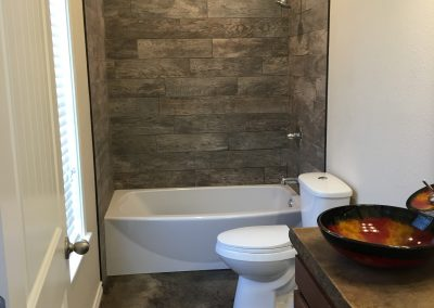 custom modern bathroom west texas crosswise