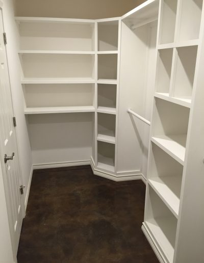 custom closet crosswise custom homes west texas