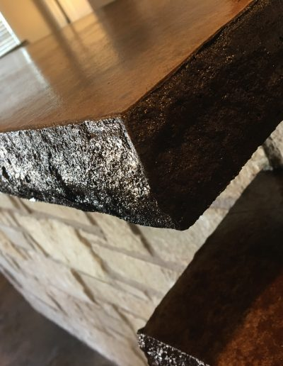 countertop crosswise custom homes west texas