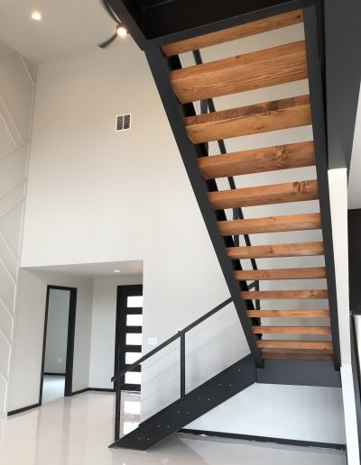 modern luxury stairs Tuscola TX