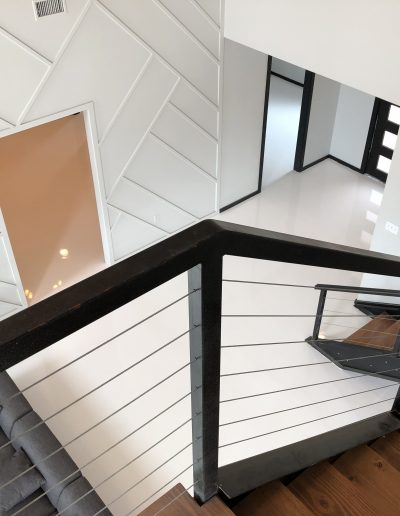 modern luxury home stairs