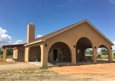 modern adobe house crosswise west texas abilene
