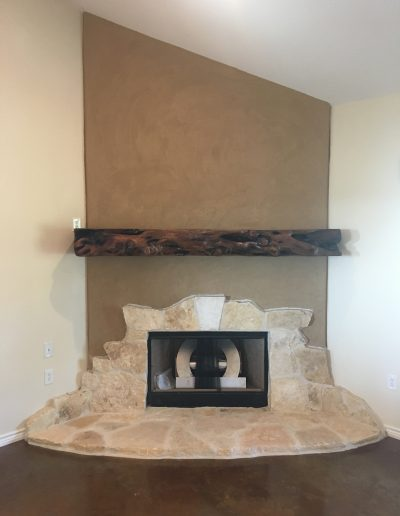 interior fireplace crosswise custom homes eula abilene texas